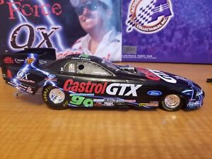 JOHN FORCE CASTROL GTX 9X CHAMPION 2000 MUSTANG FUNNY CAR 1/24 SCALE DIECAST