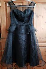 LINDY BOP BLACK DRESS SIZE 12 ROCKABILLY BALLROOM