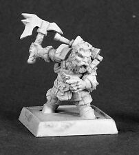 Durin Dwarf Sergeant Reaper Miniatures Warlord Fighter Ranger Barbarian Melee