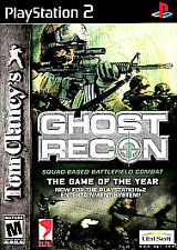 Tom Clancy's Ghost Recon (Red or Black Label) (PS2), Excellent Video Games