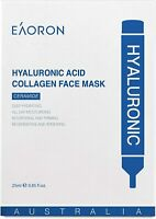 Eaoron Hyaluronic Acid Collagen Hydrating Face Mask 25ml 5 Pieces Low Postage!
