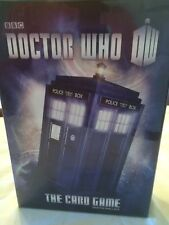 DOCTOR WHO The Card Game  by Martin Wallace NEW In Box.