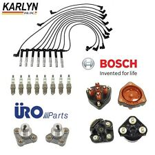 Mercedes W124 W129 W140 Ignition Kit with Distributor Rotors Caps & Wire Set