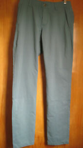 Under Armour Men's Showdown Tapered Golf Pants 30/32 - Dust (416) Green - NWT