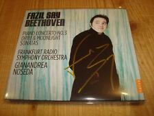 Signed Signiert FAZIL SAY Beethoven Piano Concerto 3 & Sonatas 14 32 CD NEW NEU