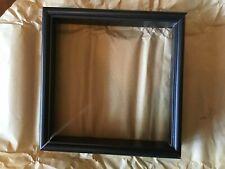 New listing Shadowbox Frame Moulding (black) - Wood 6 frames total