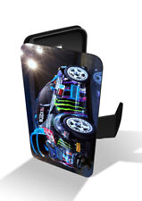 Focus Rally Car Racing Drift Wallet Leather Phone Case Cover