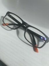 Timberland Spectacle Frame, Black, 53x18, Used With Prescription