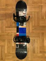 Ride DHK 145 Snowboard Kids (with bindings!)