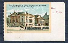 Ansichtskarte Gruss aus Berlin Opernhaus - 00895