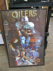 1968 Houston Oilers Team Poster
