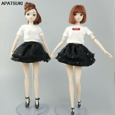 """Fashion Doll Clothes For 11.5"""" Doll Outfits Top Sequin Skirt For Blythe Doll 1/6"""