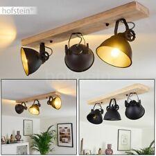 Decken Leuchte Küchen Flur Strahler Lampe rustikal Holz verstellbar Vintage
