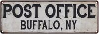 Buffalo, Ny Post Office Personalized Metal Sign Vintage 106180011069