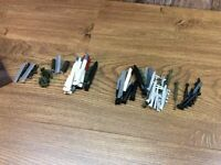 Model Making Missiles And Rockets Lot Of Miscellaneous Weapons For Models A61