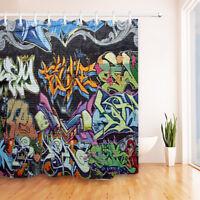 72x72/'/' Single Elephant Walks on Road Bathroom Shower Curtain Waterproof12 Hooks