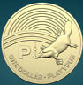 THE GREAT AUSSIE COIN HUNT | 2019 | UNC ONE DOLLAR | 'P' FOR PLATYPUS