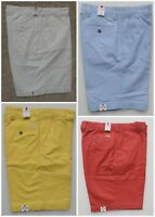 """IZOD SALTWATER CHINOS MEN'S CASUAL SHORTS 10.5"""" INSEAM CHOICE NEW"""