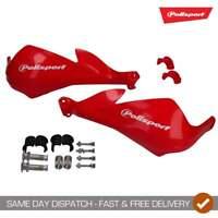 Polisport Sharp Motocross Enduro Handguards With Universal Fitting Kit - Red