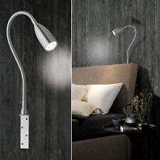 LED Anbauleuchte Bettleuchte Leseleuchte Area Light m.flex Leuchtenarm 2er-Set