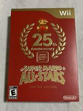 Super Mario All Stars Limited Edition (Nintendo Wii) Factory Sealed Ultra Rare