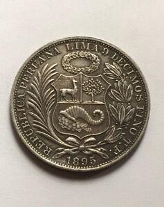 Peru 1 Sol 1895