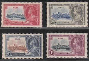 Fiji   1935   Sc # 110-13   Silver Jubilee   MNH   OG   (4015-1)