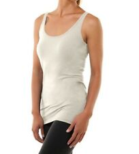 Soybu Womens Lola Tank Top Cotton Blend, Luna Cream Color, Large 10-12