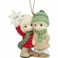 Precious Moments Our First Christmas Together 2018 Dated Porcelain Ornament NEW