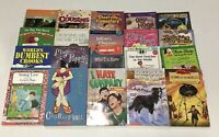 Lot of 10 RANDOM Mix Chapter Books Youth Preteen Middle Reader
