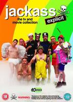 Jackass - The TV E Film Collection Esplicito DVD Nuovo DVD (PHE1877)