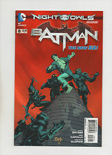 Batman #8 - Night Of The Owls 2nd Print - (Grade 9.2) 2012