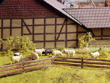 Noch H0 (13040): Fence - Length 1 M, Height 13 mm
