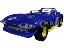1964 CHEVROLET CORVETTE GRAND SPORT ROADSTER #10 BLUE 1/18 ROAD SIGNATURE 92697