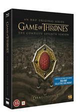 Game of Thrones Complete 7 Season Steelbook Blu Ray + Sigil Magnet