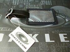 """New! Oakley """"Id Tag"""" Luggage Black/Silver Display (99065)"""
