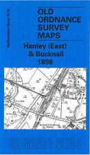 OLD ORDNANCE SURVEY MAP HANLEY EAST & BUCKNALL 1898