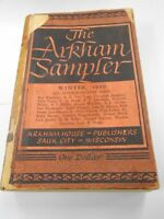 The Arkham Sampler:All Science-Fiction issues by August Derleth (1949,USA) LOOK!