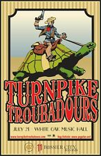 TURNPIKE TROUBADOURS 2017 HOUSTON CONCERT TOUR POSTER- Country /Folk /Roots Rock