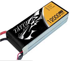 TATTU 12000mAh 14.8V 15/30C 4S1P Lipo Battery Pack