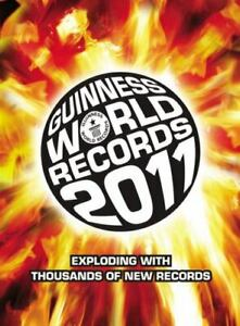 Guinness Book Of World Records 2011 Hardcover Special American Edition