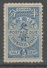 1904 China POSTAGE DUE Sc#J7 MH FINE