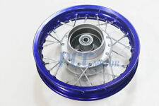 "10"" REAR RIM WHEEL FOR DRUM BRAKE XR50 CRF50 STOCK PIT BIKE BLUE V RM02B"