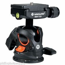 Vanguard BBH-100 Ball Head 22 LB Capacity Arca Q/R Compatibility