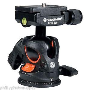 Vanguard BBH-100 Ball Head 22 LB Capacity Arca Q/R Compatibility Open Box