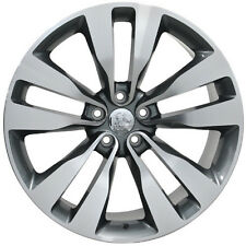 """20"""" Staggered Dodge Charger SRT Vapor Style Wheels Rims 20x9/10 Mach. Gray 2436"""