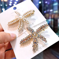 Fashion Pearl Hair Clip Hairband Comb Bobby Pin Metal Barrette Hairpin Headdress