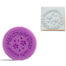 Flower Handmade Natural Soap Stamp Mold Supplies Resin 1.5x1.5 inches