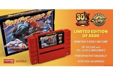 STREET FIGHTER II 2 30TH ANNIVERSARY SNES RARE Nintendo Limited Edition Sold Out