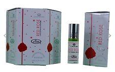 Red Rose 6ml by Al Rehab Best Seller Perfume/Attar (6 X 6ml)